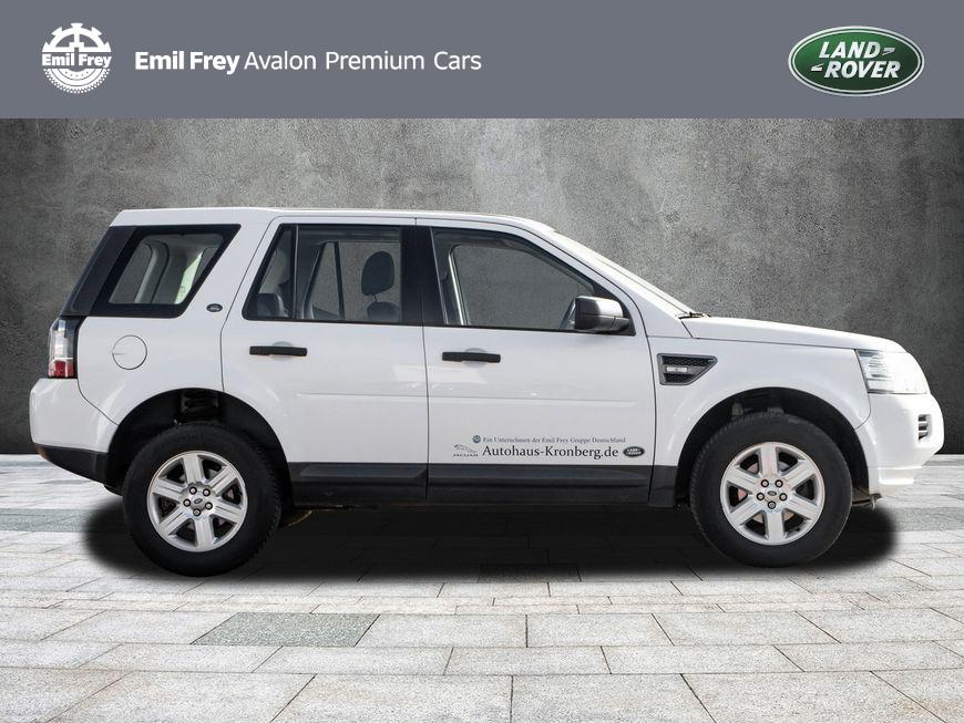 Land Rover Freelander eD4 S in Weiss/Fuji White