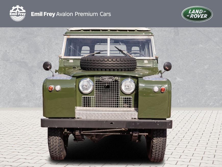 Land Rover Defender Serie II in Grün